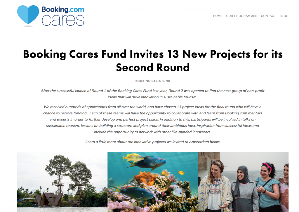 booking cares